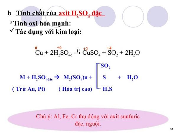 CuO + H2SO4 đặc nóng có phải phản ứng oxi hóa khử?