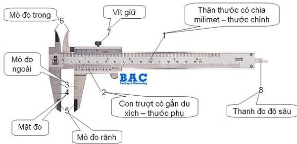 Các đo thước kẹp chi tiết nhất cho những người không chuyên