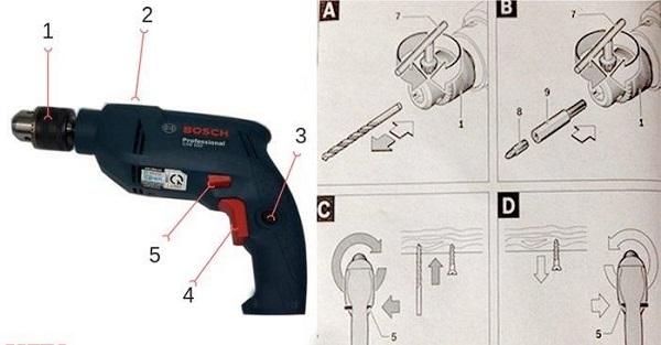 9 nguyên tắc phải nhớ khi sử dụng máy khoan cầm tay