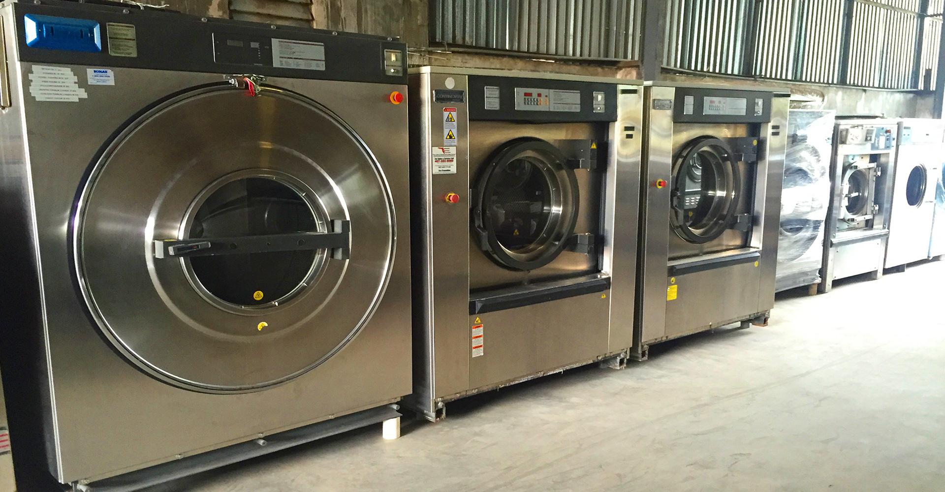 Quy trình lắp đặt máy giặt công nghiệp