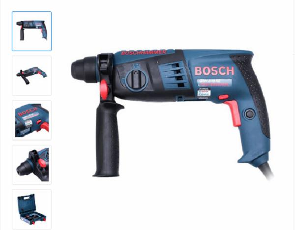Đánh giá máy khoan cầm tay Bosch: Máy Khoan Búa Bosch 2-18 RE
